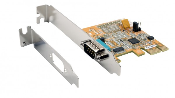 PCIe 1S Seriell RS-232 Karte, ASIX