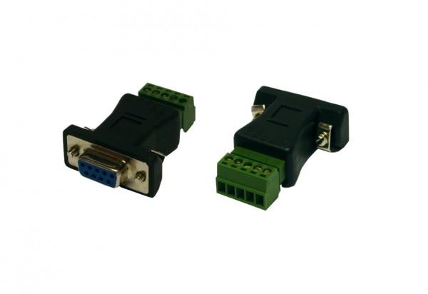 Adapter 9 Pin zu 5 Pin Terminal Block